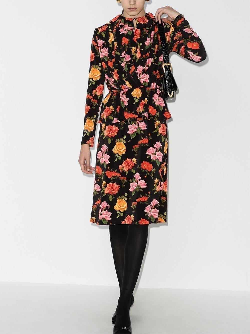 COMMISSION Brushed Cashmere Jumper Dress
