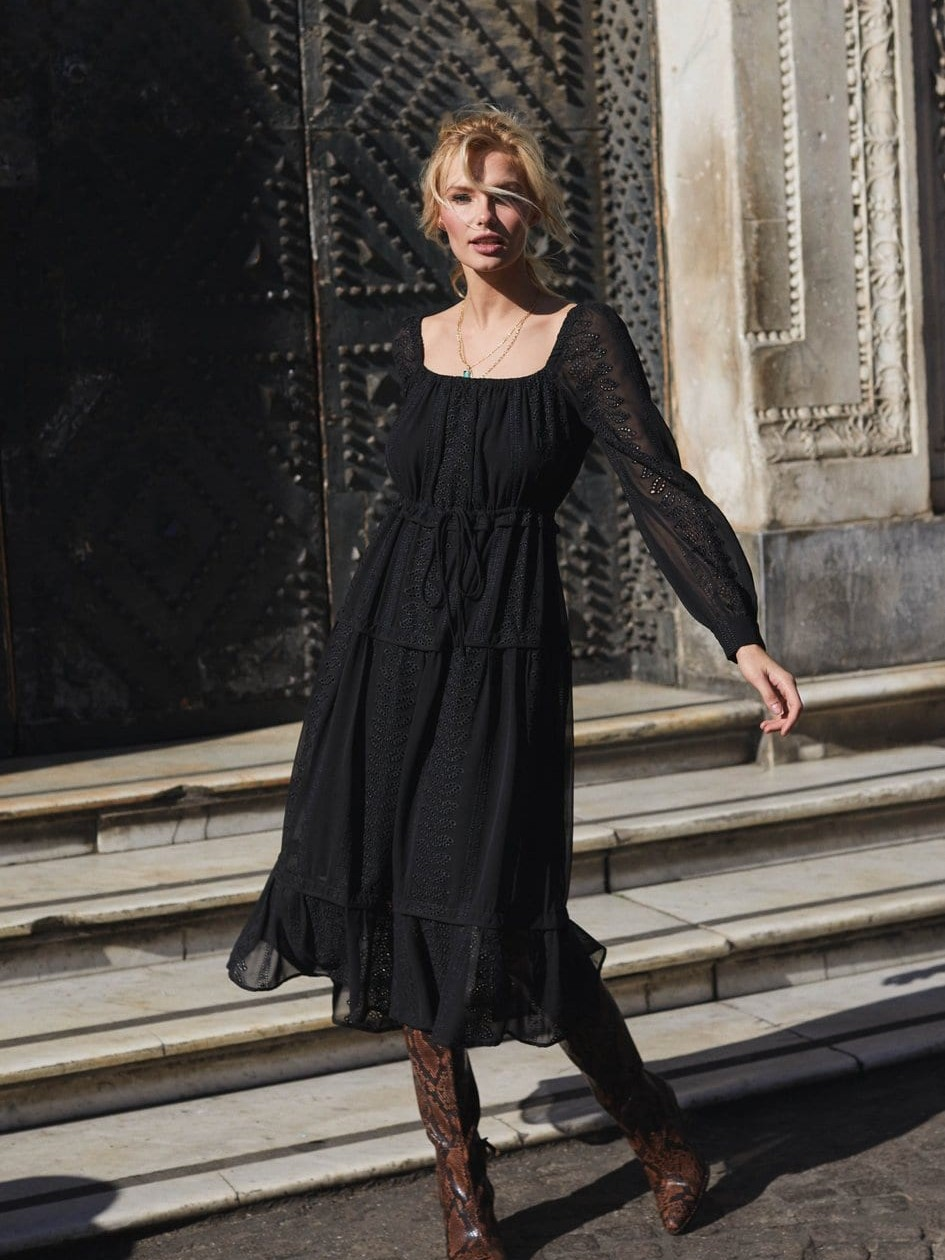 Stay Timelessly Chic In These Classic Black Dresses