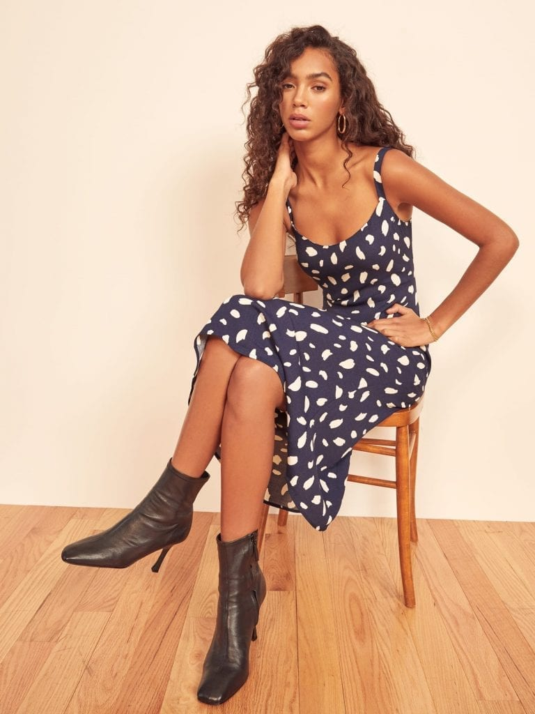 27 New Season Dresses You Can Wear With Ankle Boots