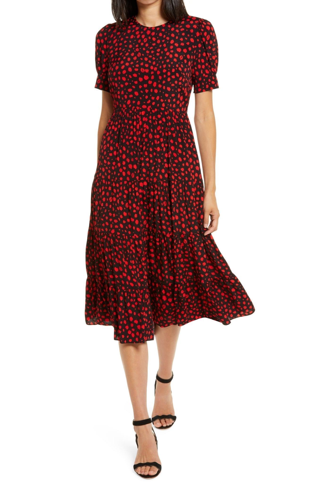 EVER NEW Betty Print Dress