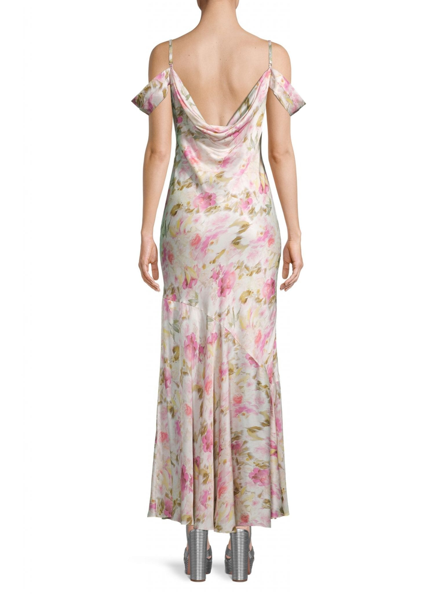 FAME AND PARTNERS The Leanna Floral Print Dress