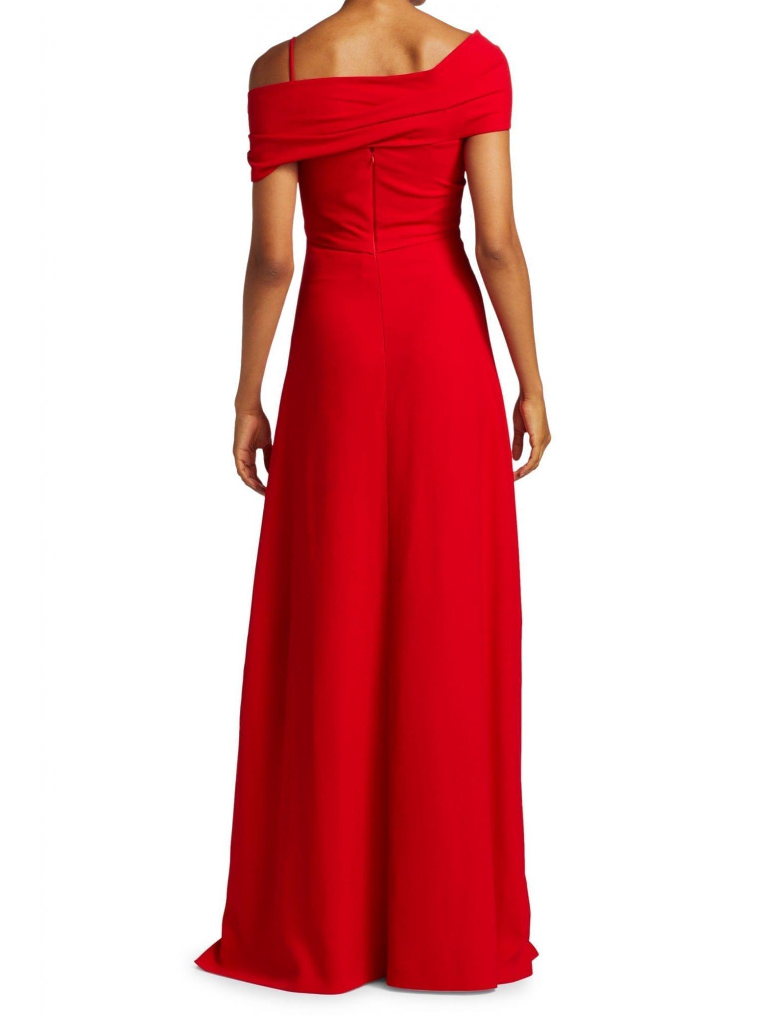 GIAMBATTISTA VALLI Off-The-Shoulder Wrapped Gown