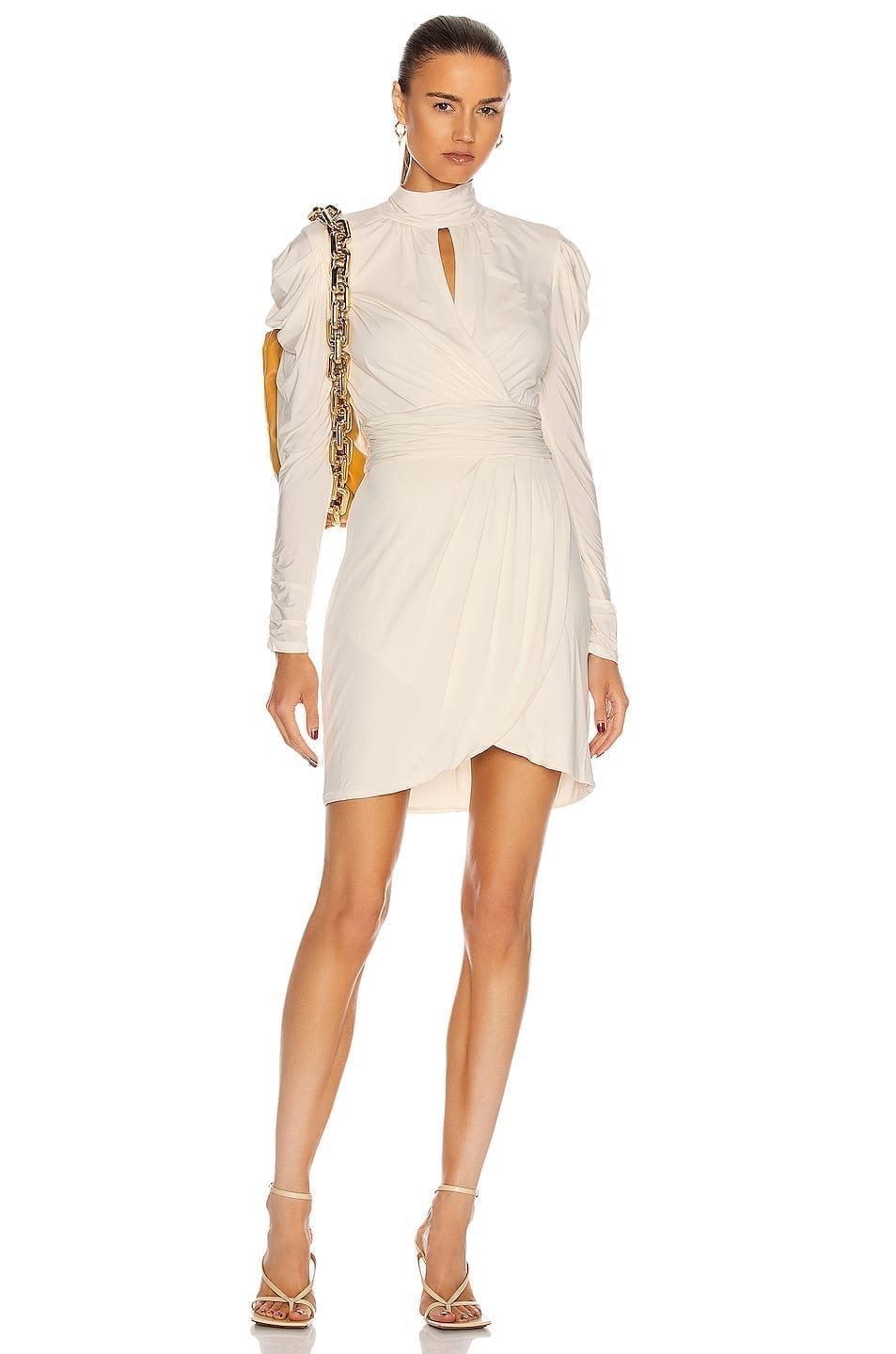 JONATHAN SIMKHAI STANDARD Mockneck Mini Dress