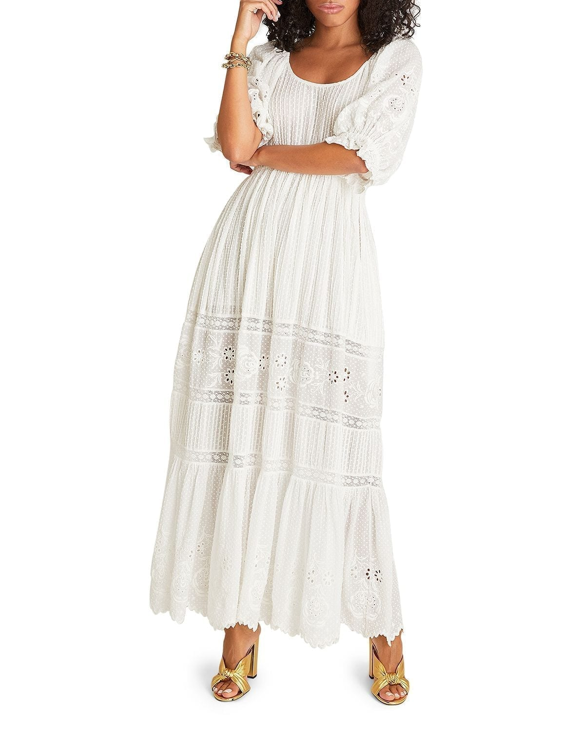 LOVESHACKFANCY Lupita Cotton Maxi Dress