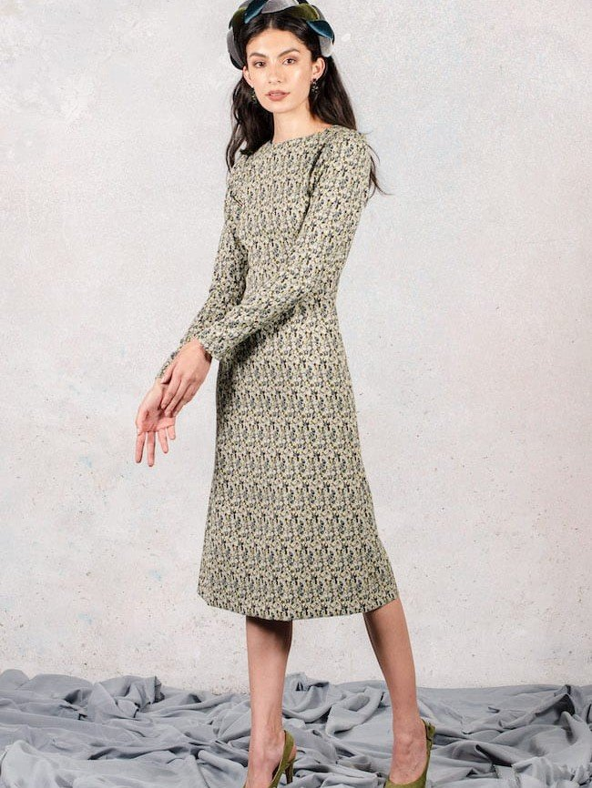 Beat The Chill In These Long Sleeve Dresses For Work