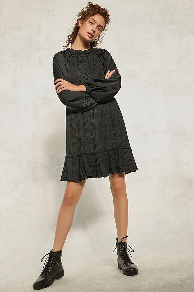 MAEVE Tasha Smocked Mini Dress