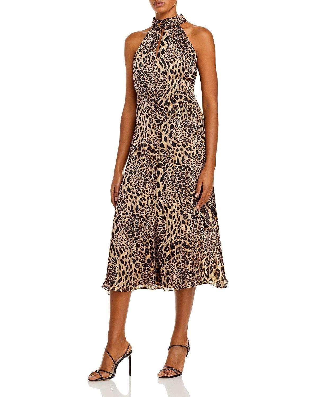 MILLY Adrian Midi Dress