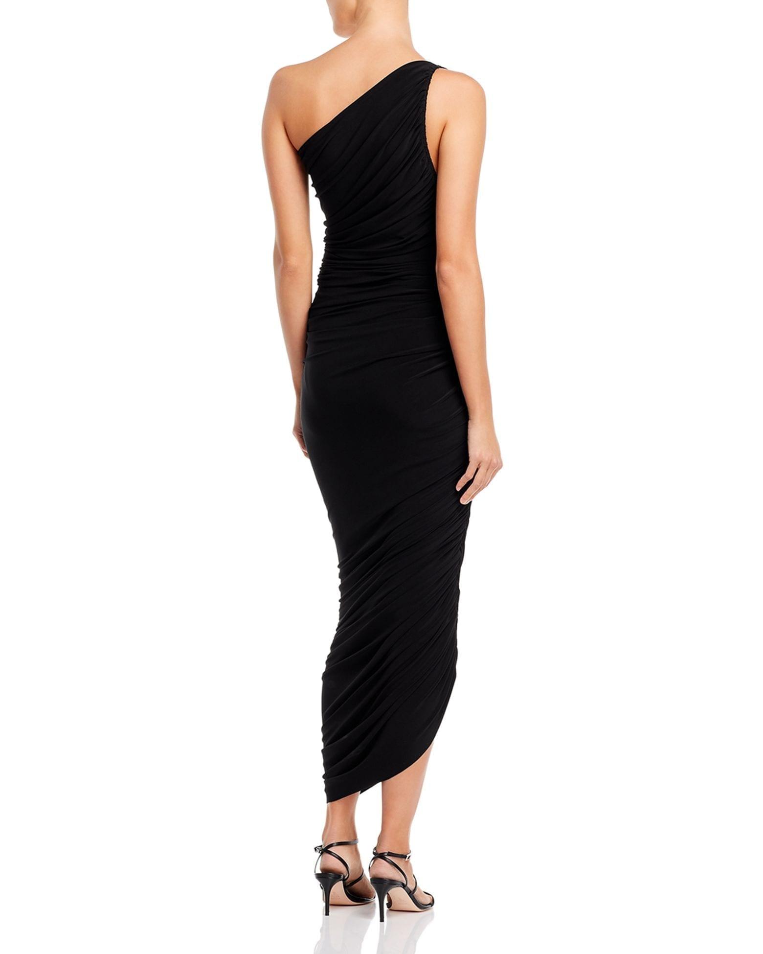 NORMA KAMALI Diana Grecian Gown