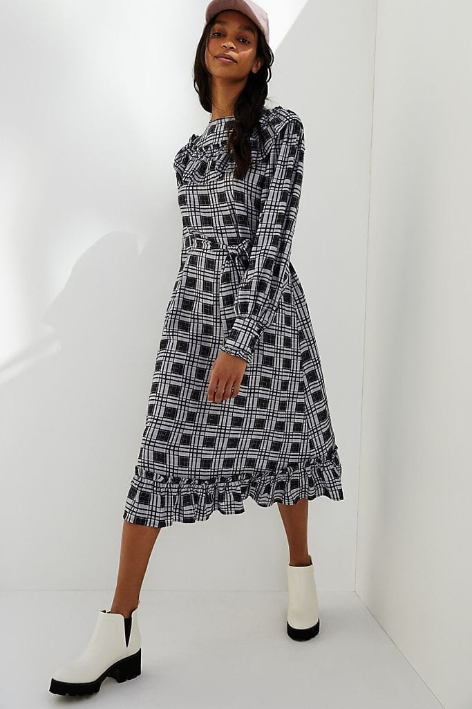 PORRIDGE Vincenne Ruffled Maxi Dress