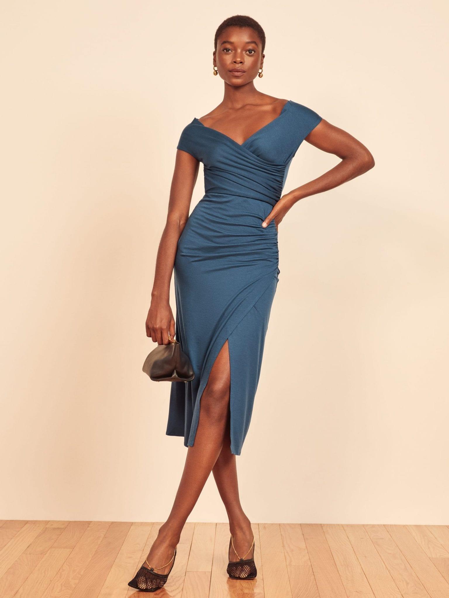 REFORMATION Cormac Dress