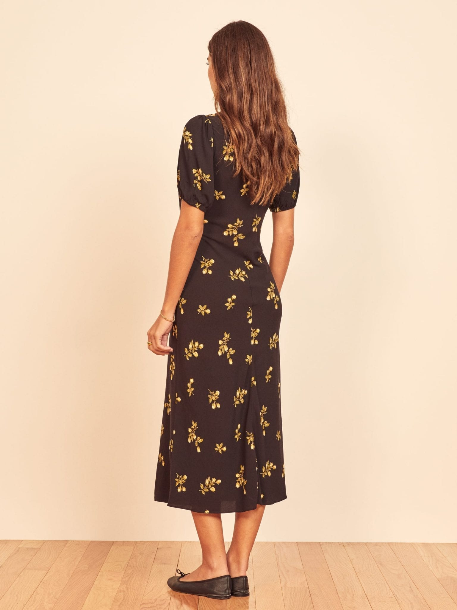 REFORMATION Fleurs Dress