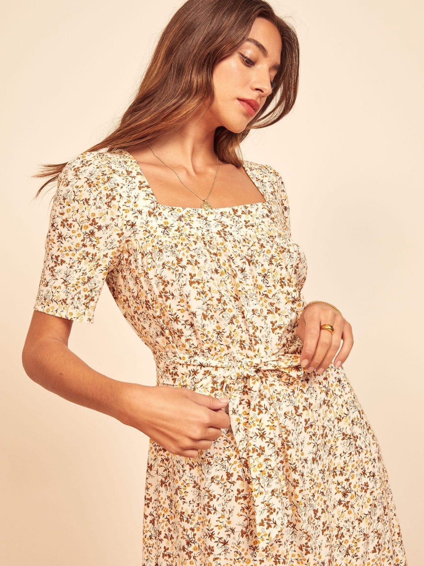 REFORMATION Iona Dress