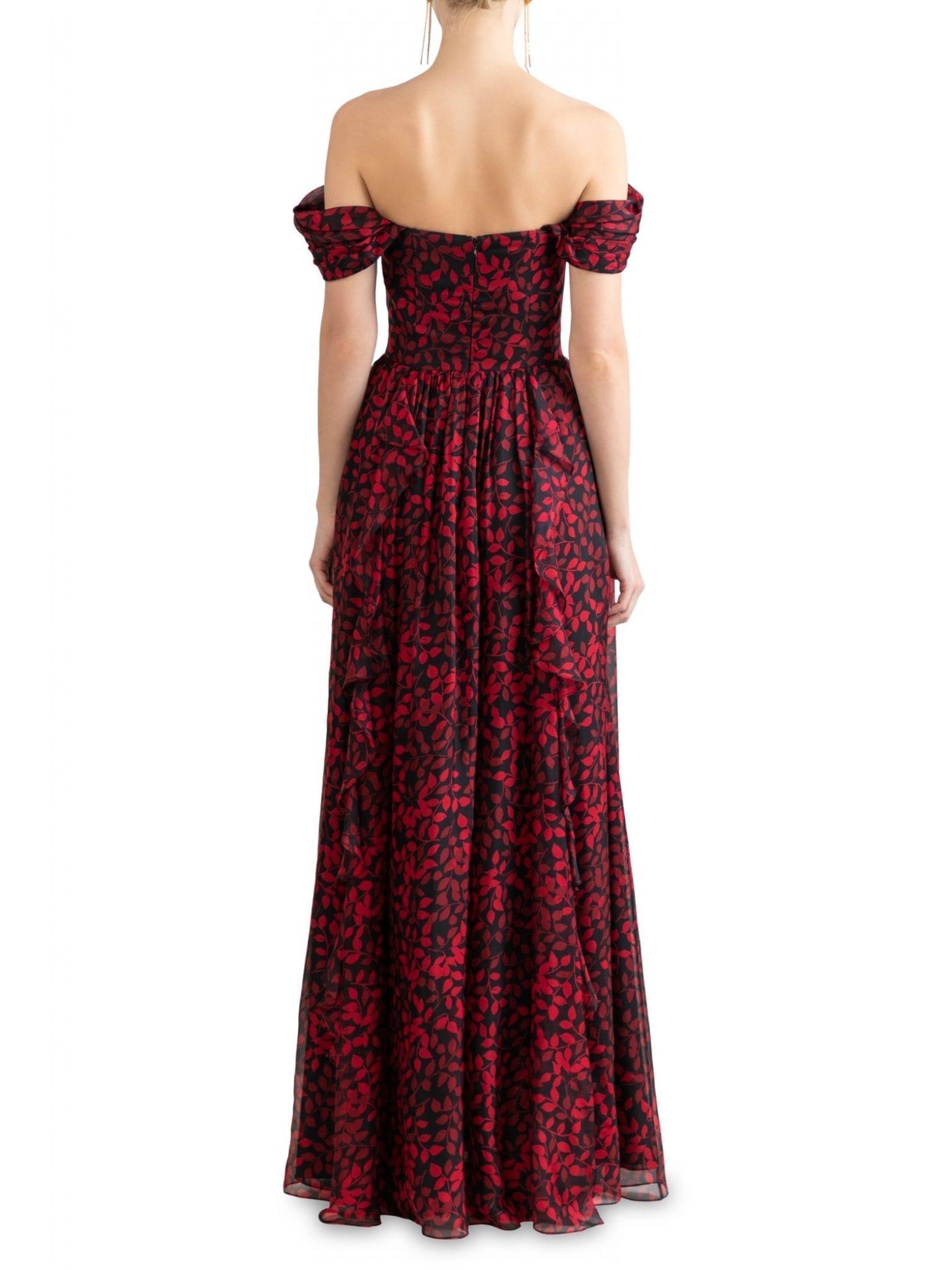 SHOSHANNA Anais Off-The-Shoulder Dress