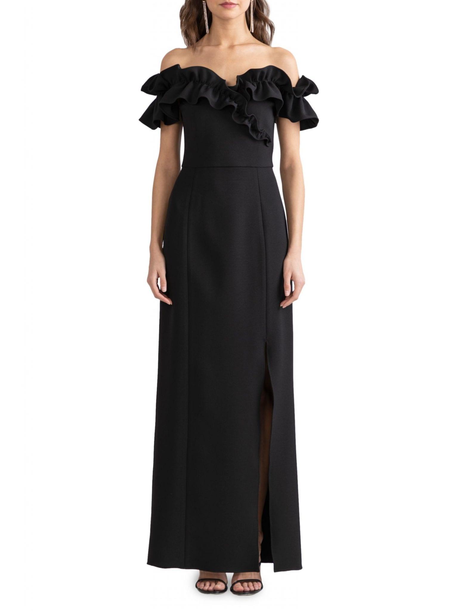 SHOSHANNA Ellis Off-The-Shoulder Dress