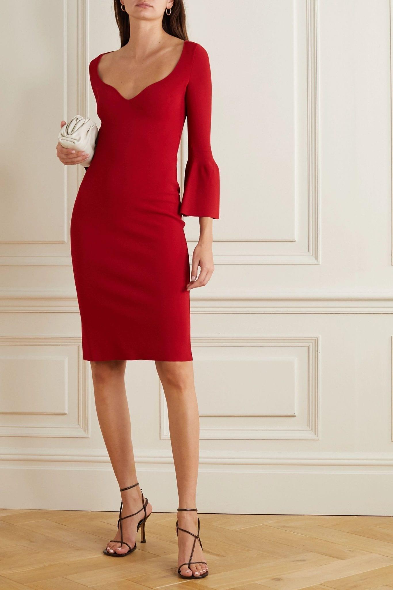 STELLA MCCARTNEY Stretch-knit Dress
