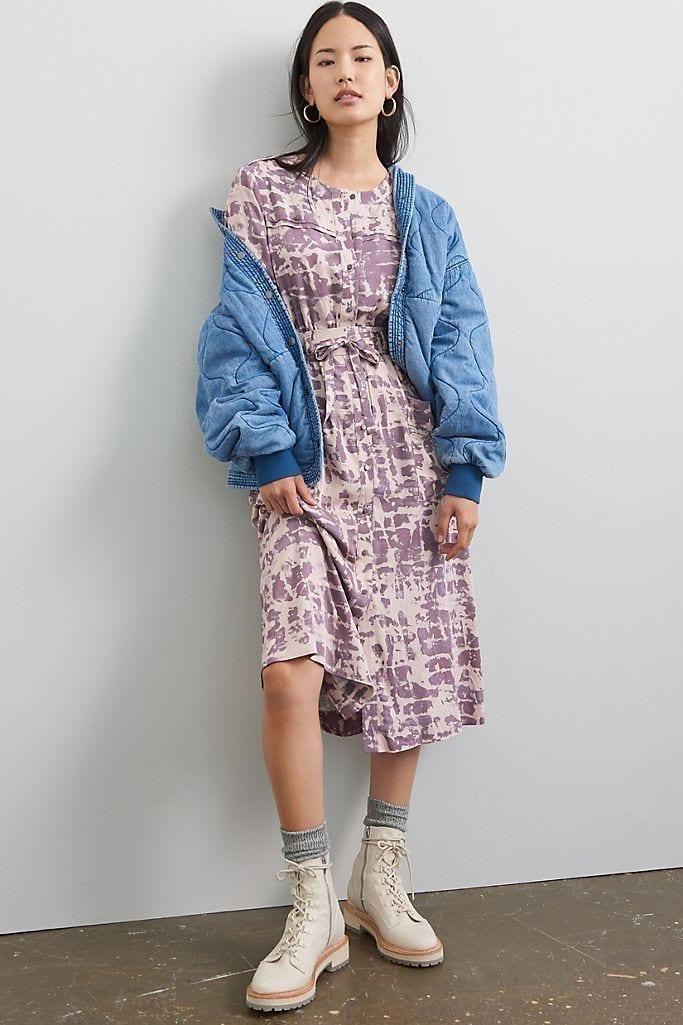 TINY Loreta Tie-Dye Maxi Shirt Dress
