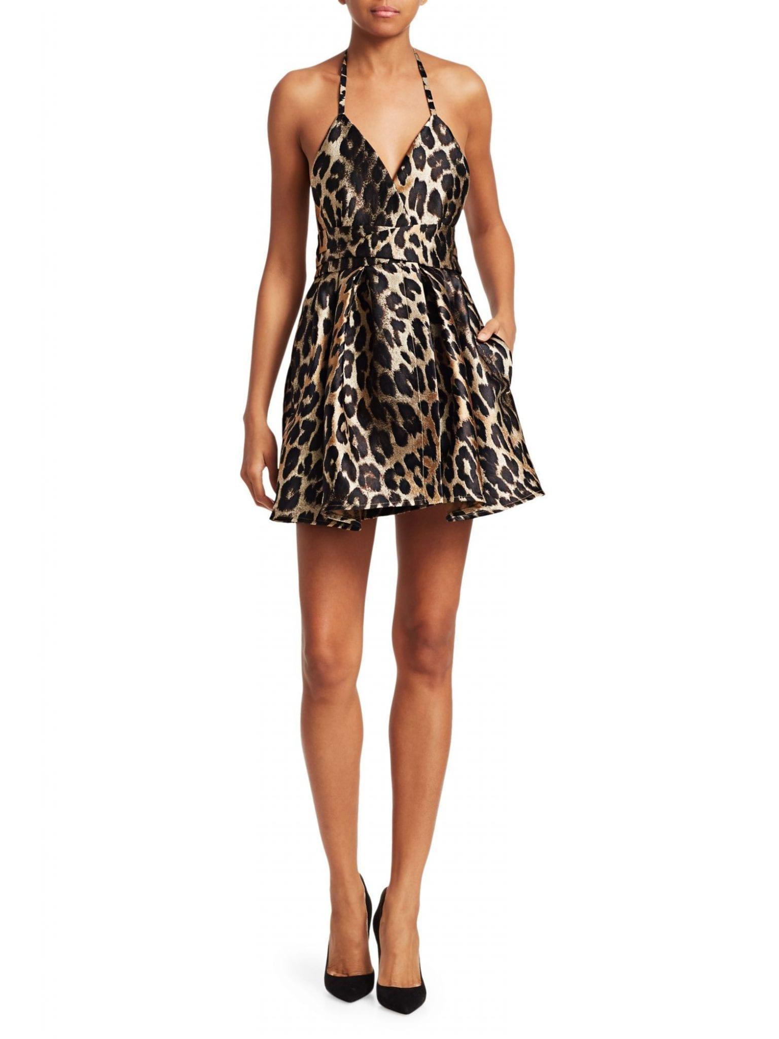 TRE BY NATALIE RATABESI The Irie Leopard Dress