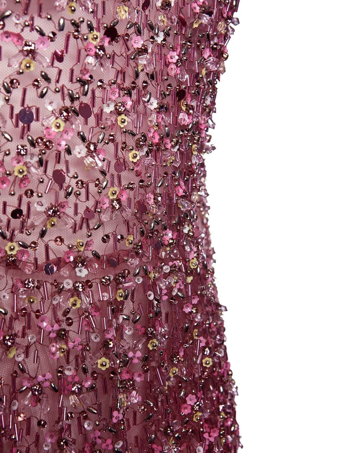 VALENTINO Embellished Tulle Gown