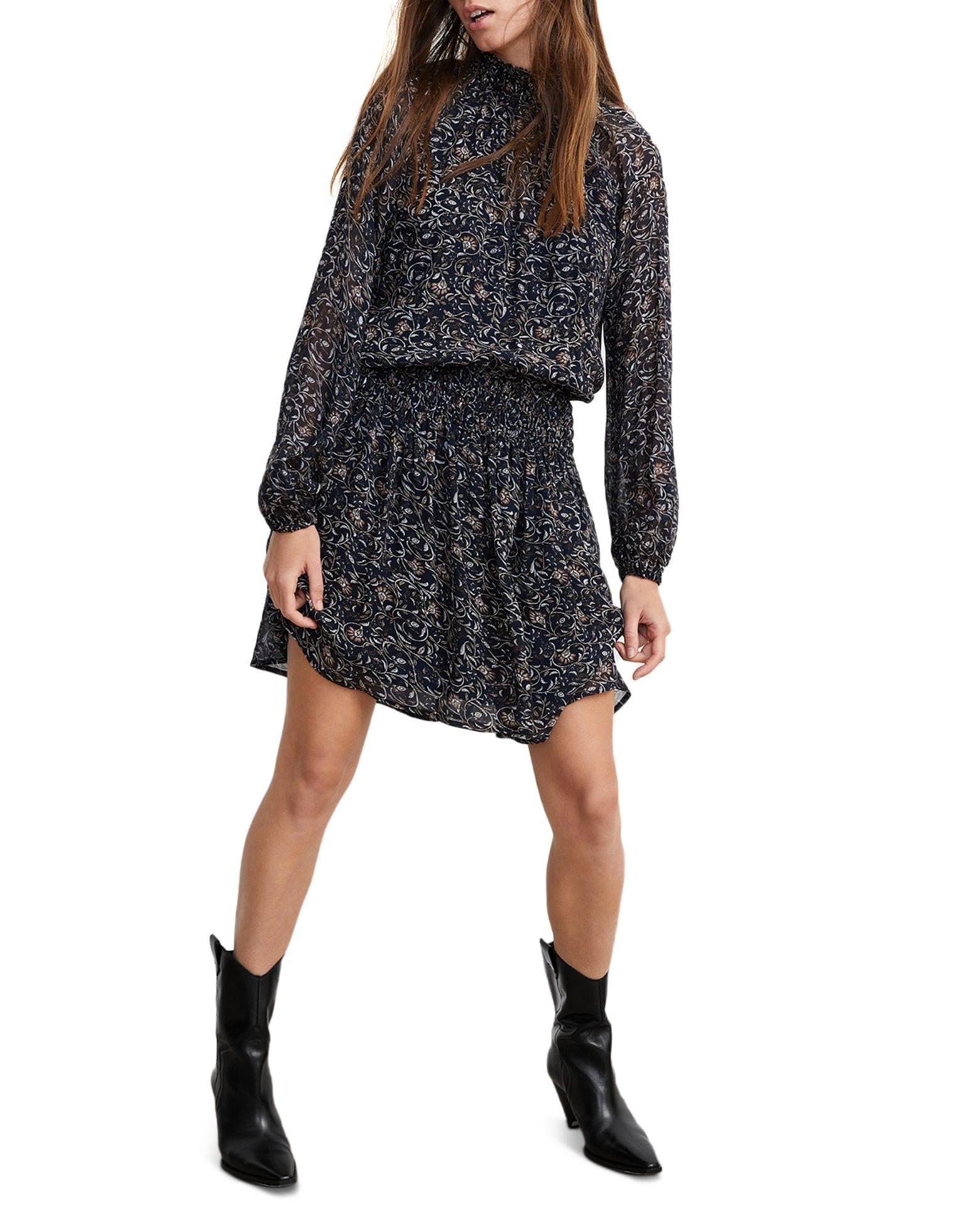 VELVET BY GRAHAM & SPENCER Kristen Printed Mini Dress