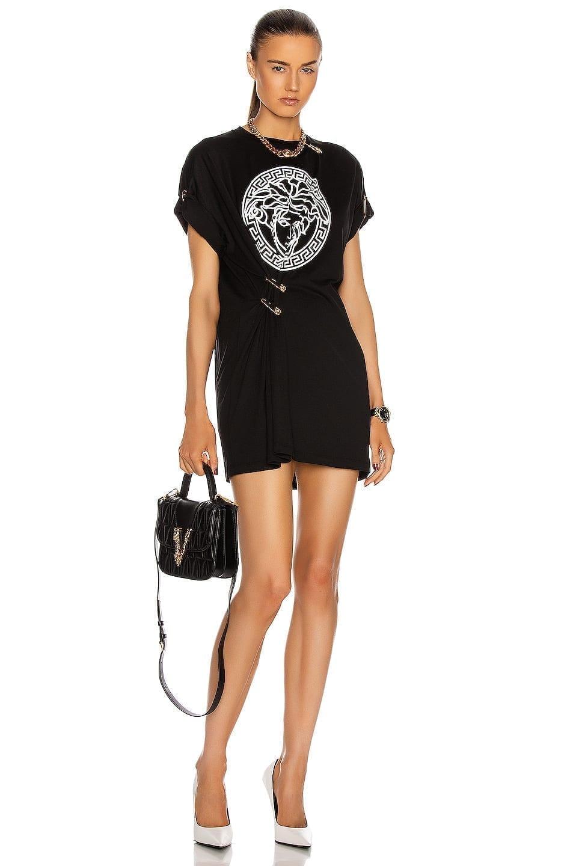 VERSACE Medusa T Shirt Dress