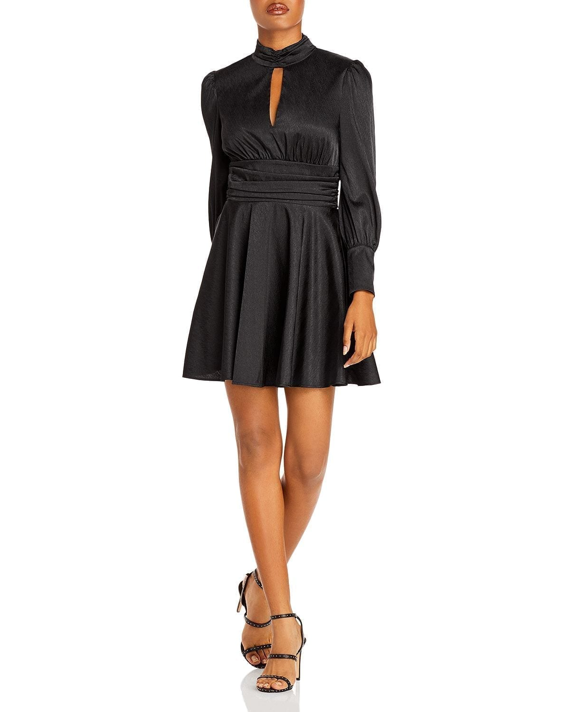 WAYF Holly Cutout Mini Dress