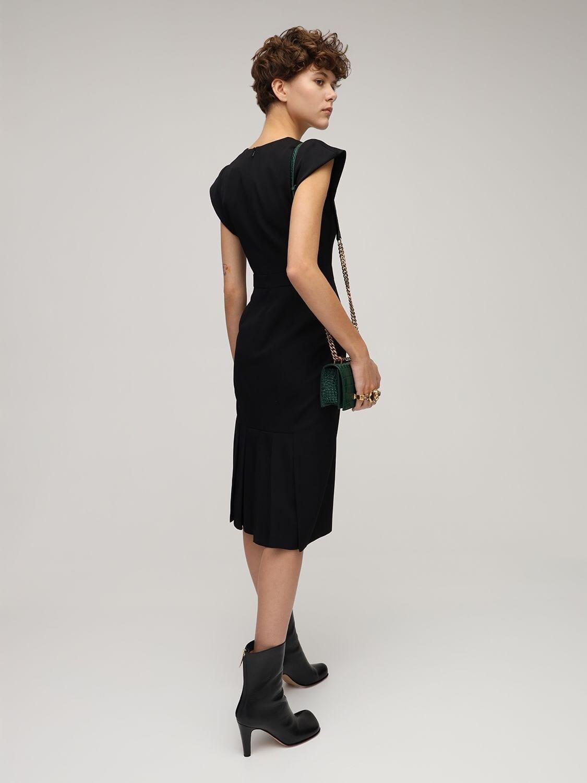 ALEXANDER MCQUEEN Knee Length Wool Dress