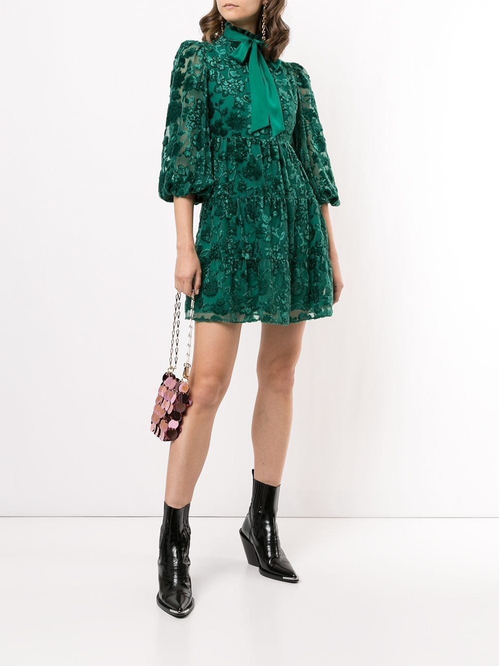 ALICE+OLIVIA Octavia Mini Dress
