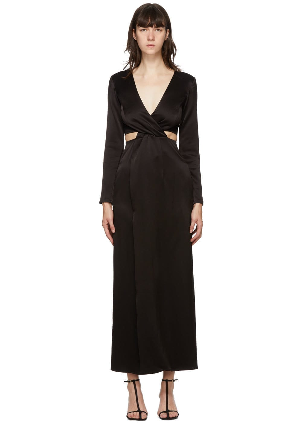 ANNA QUAN Black Elena Dress