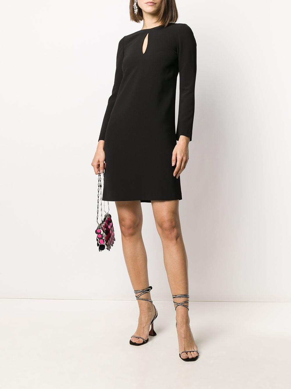 BLANCA VITA Keyhole-neck Shift Dress