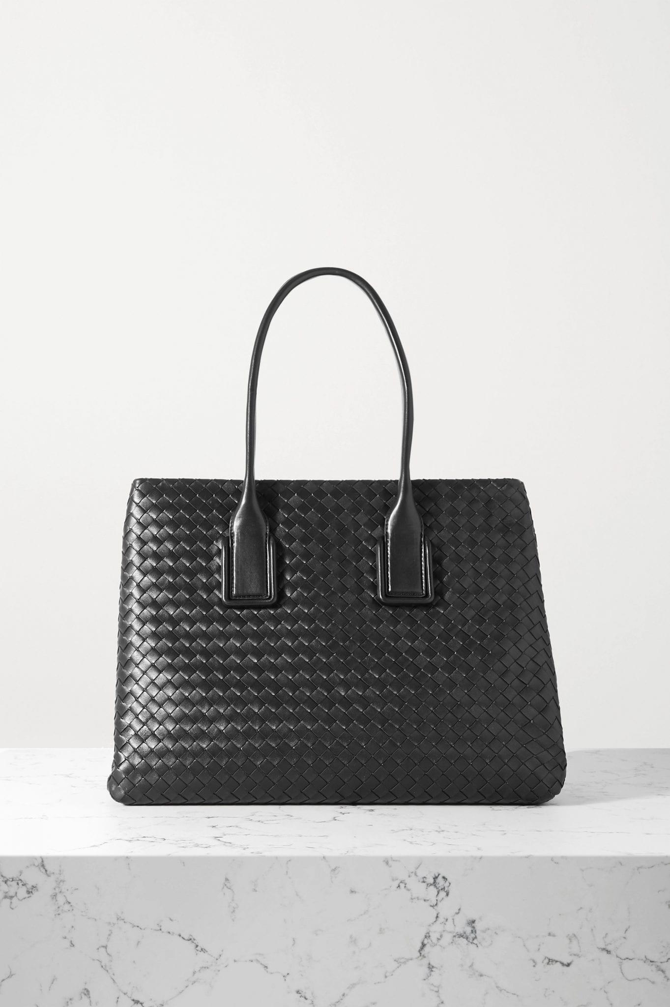 BOTTEGA VENETA Small Intrecciato Leather Tote Bag