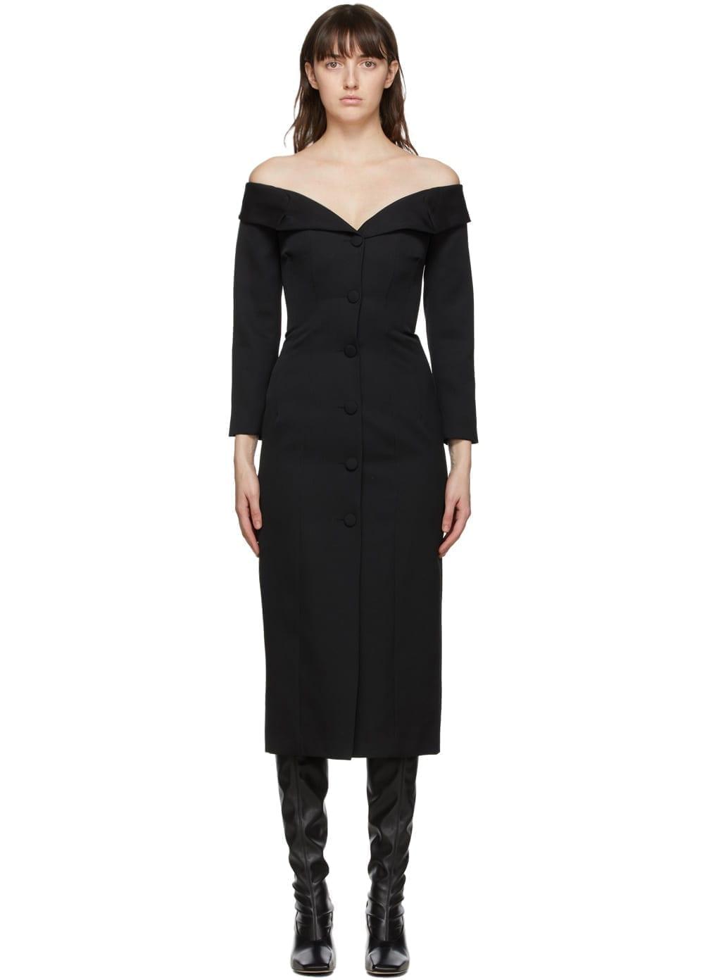 BROCK COLLECTION Black Roxana Dress