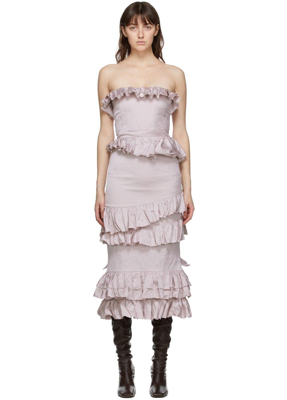 BROCK COLLECTION Purple Rosella Dress