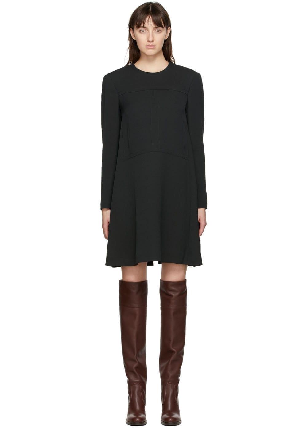 CHLOÉ Black Crepe Dress