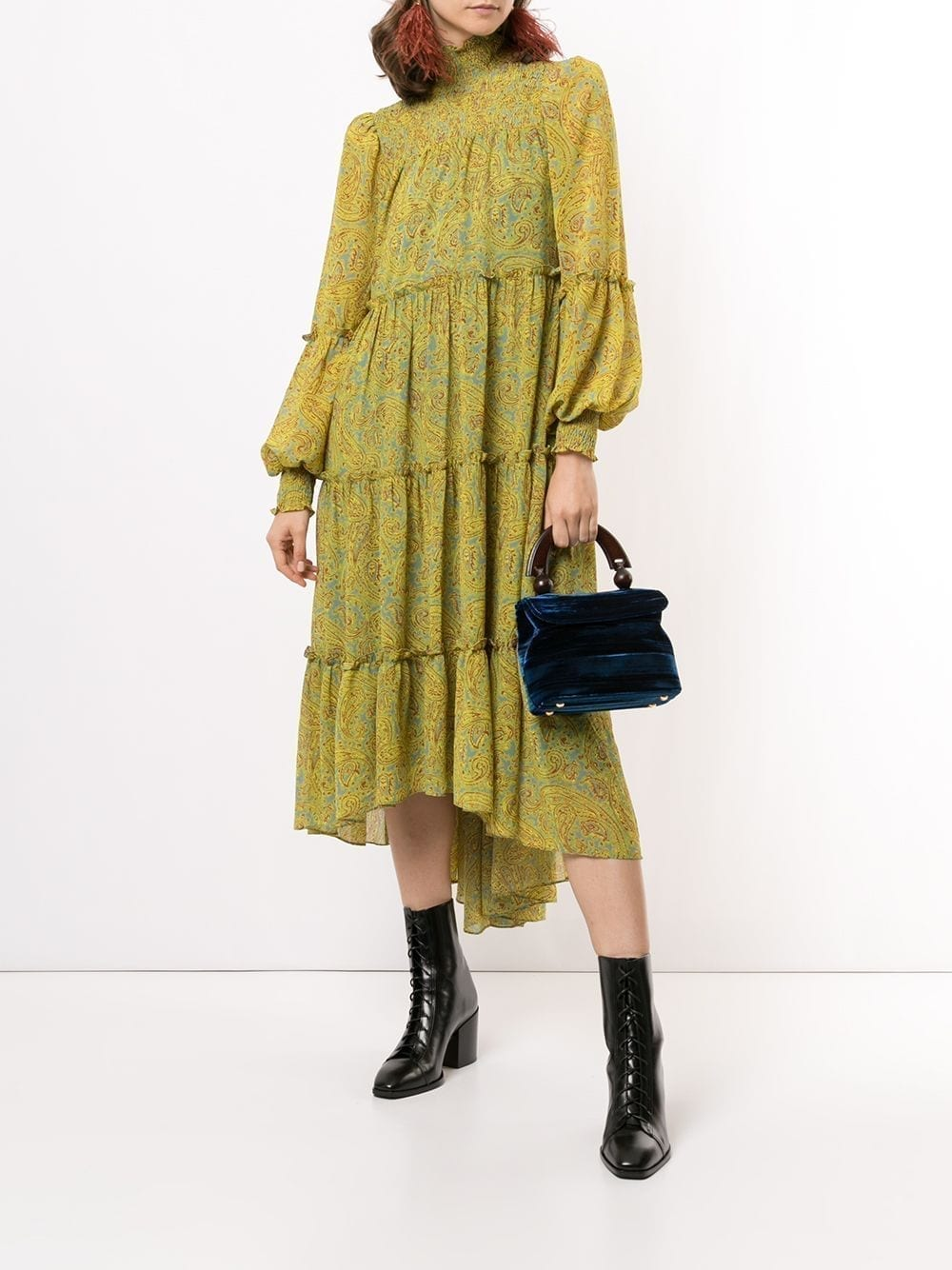 CINQ A SEPT Rika High-low Dress