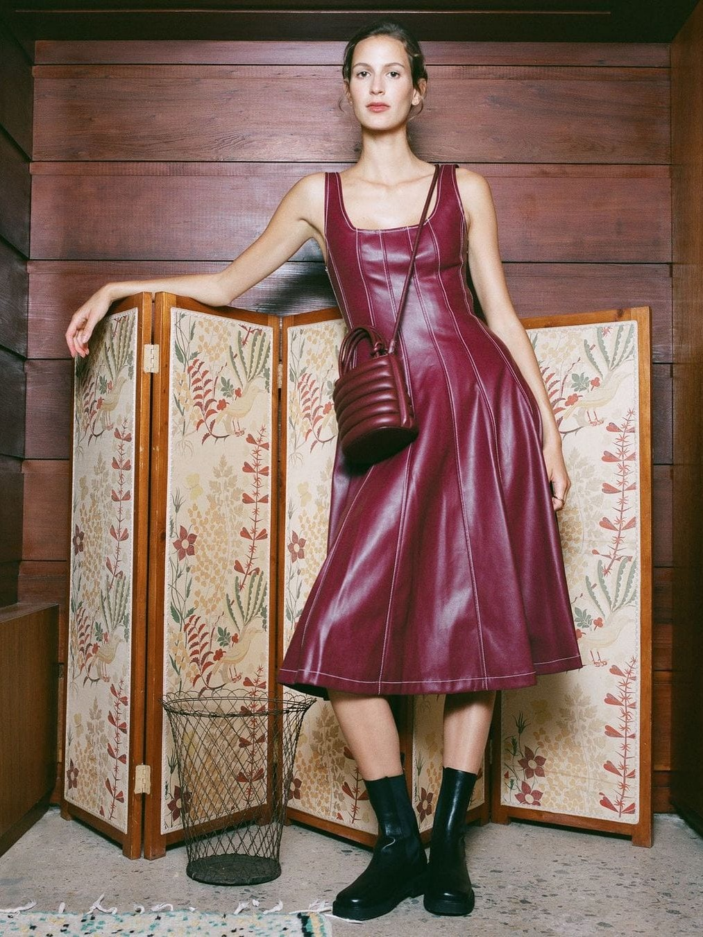 18 Fierce Faux Leather Dresses You Need This Season