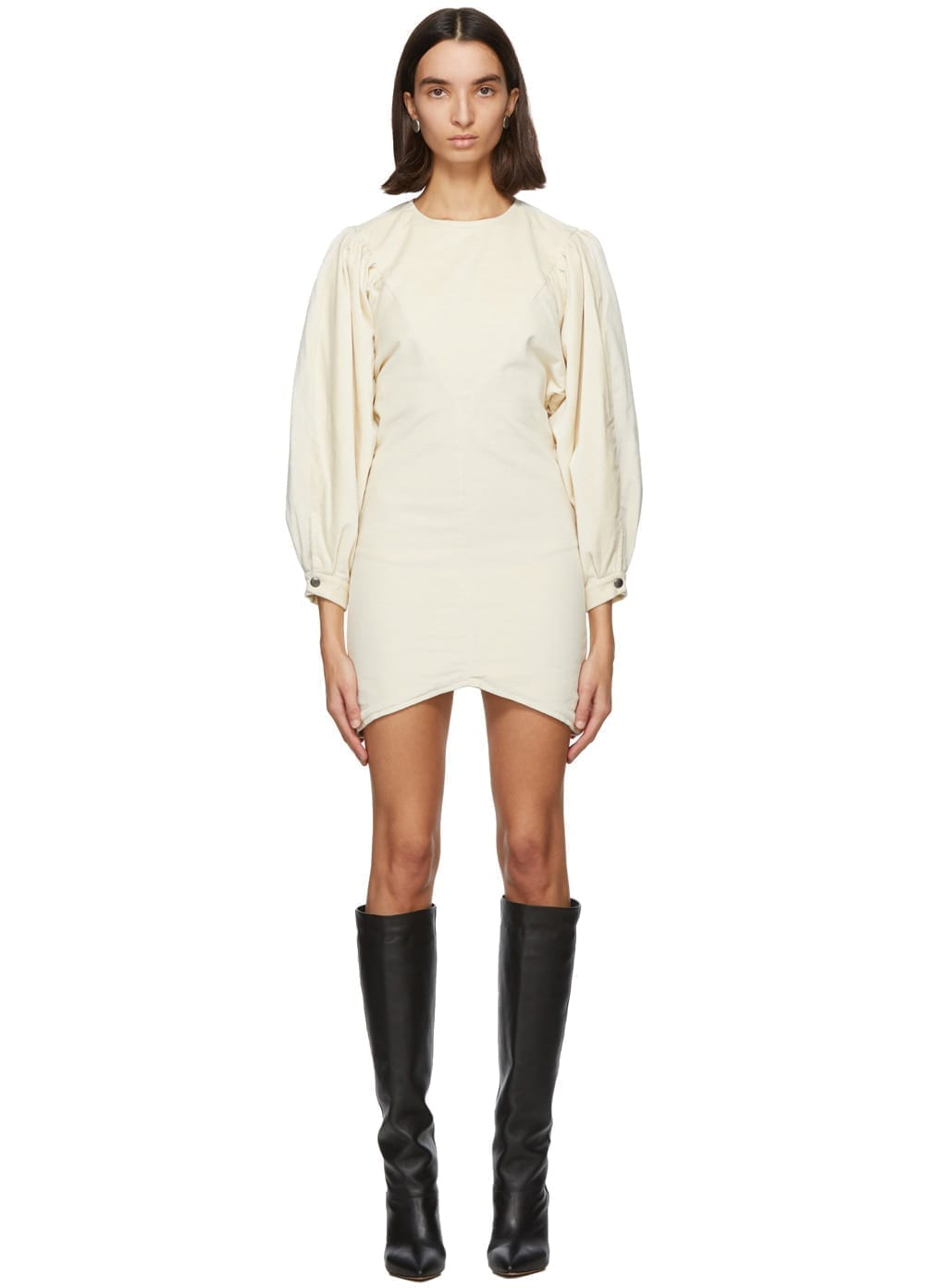 ISABEL MARANT Off-White Dilavio Dress