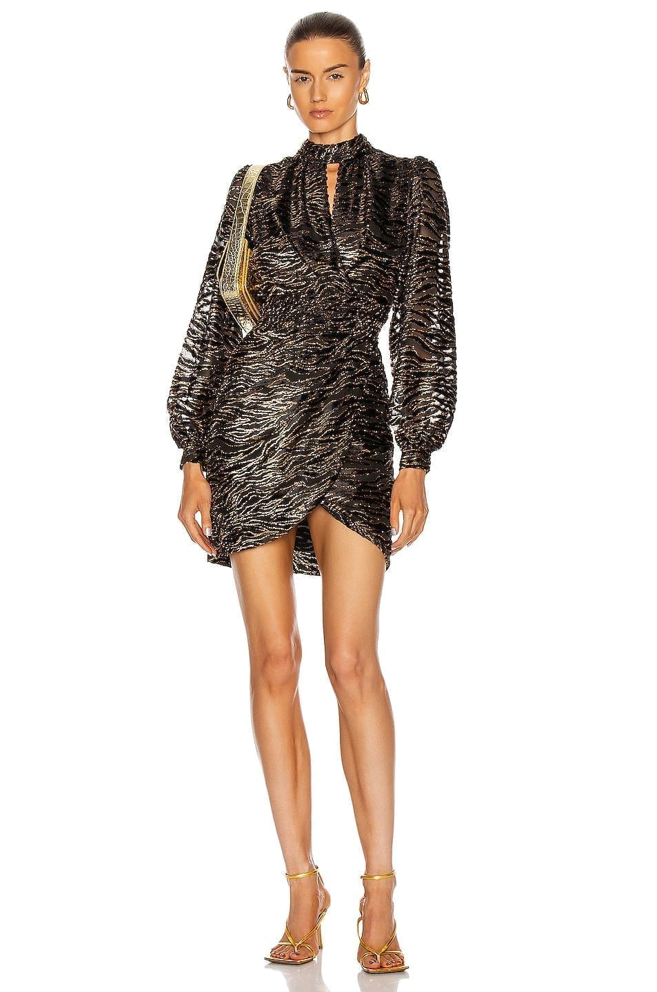JONATHAN SIMKHAI Vita Wrap Dress