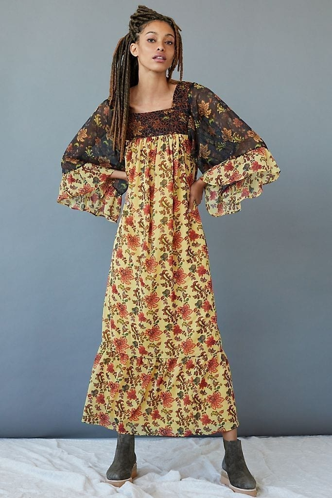 LET ME BE Lilian Maxi Dress