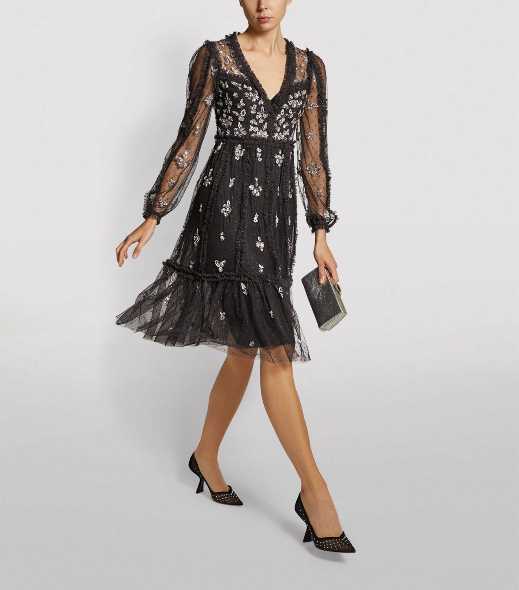 NEEDLE & THREAD Penelope Shimmer Tulle Dress