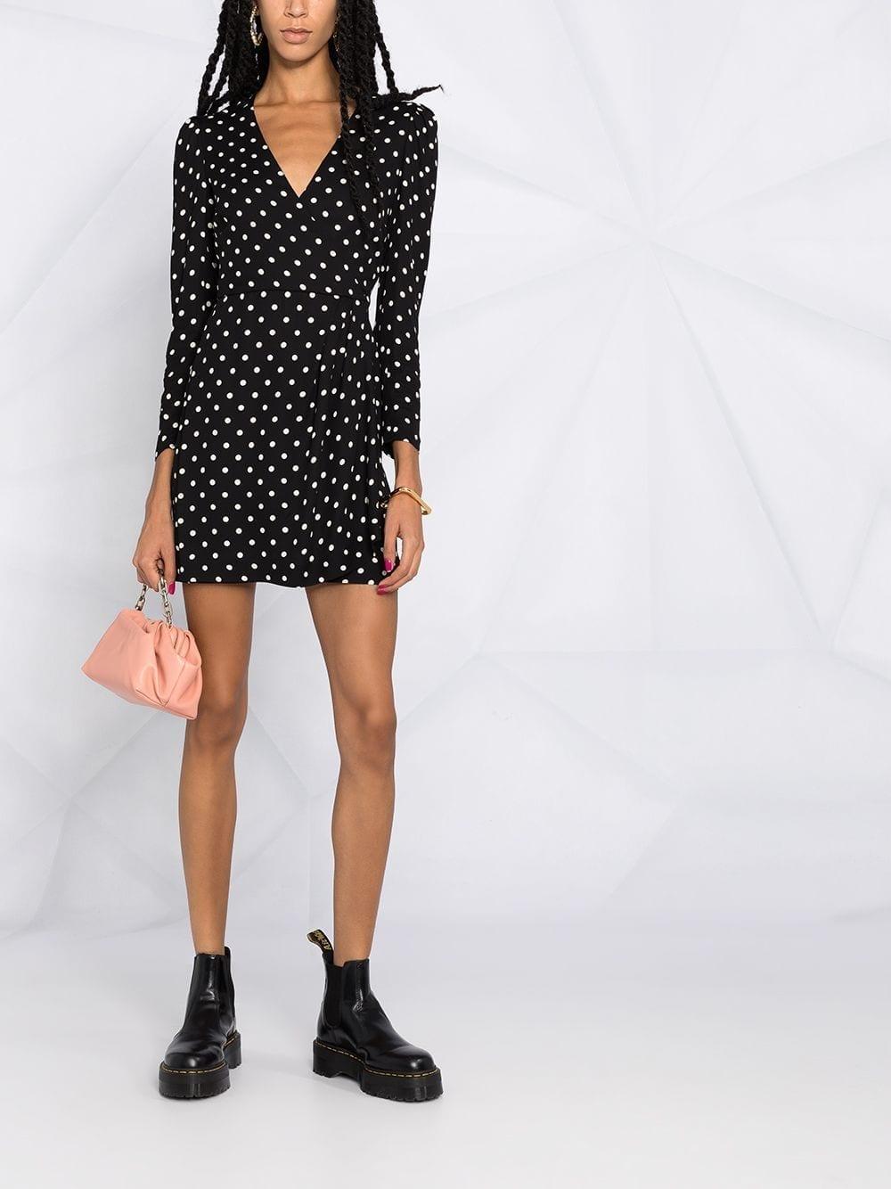 REDVALENTINO Polka-dot Wrap Dress