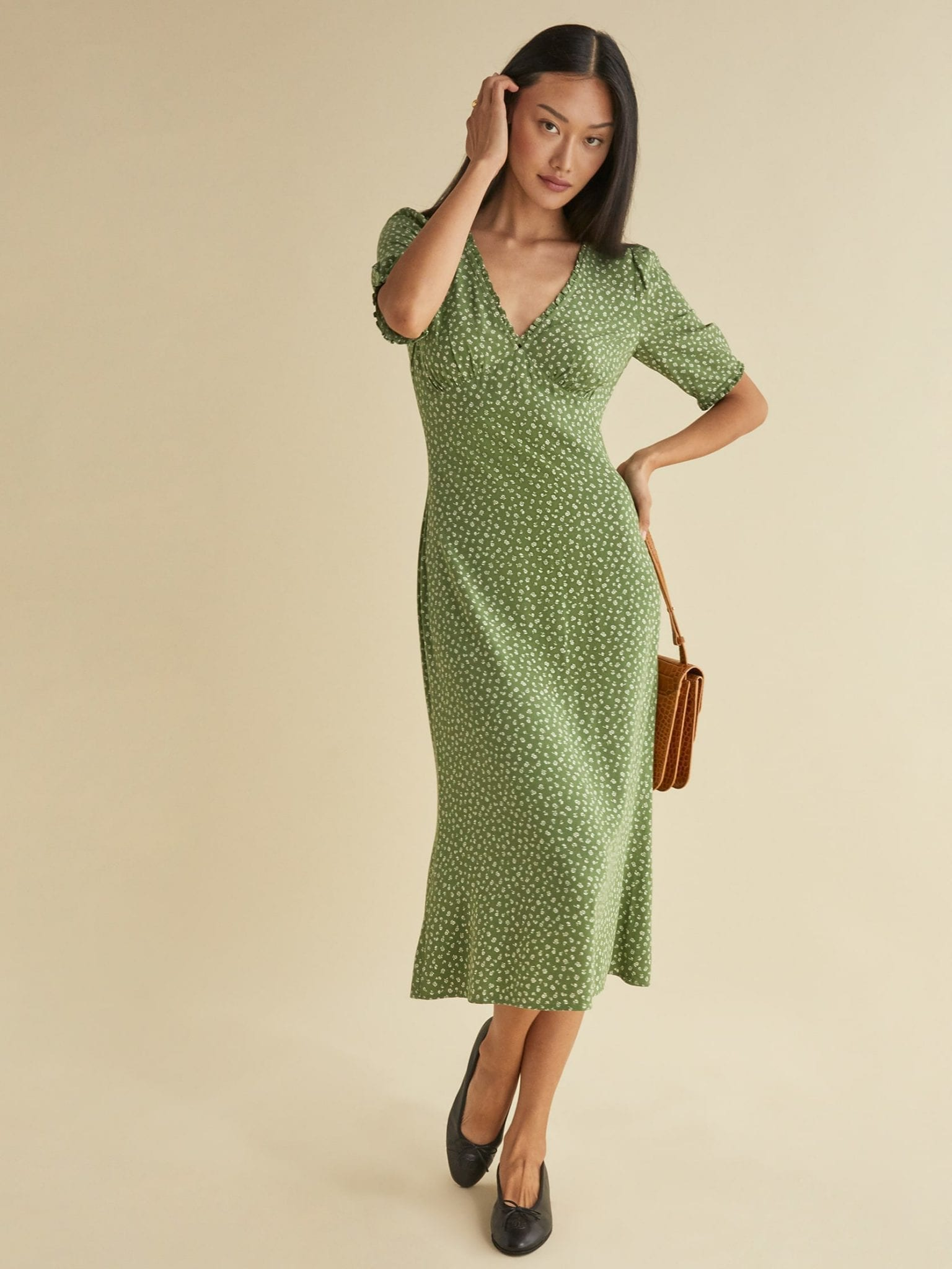 REFORMATION Aila Dress