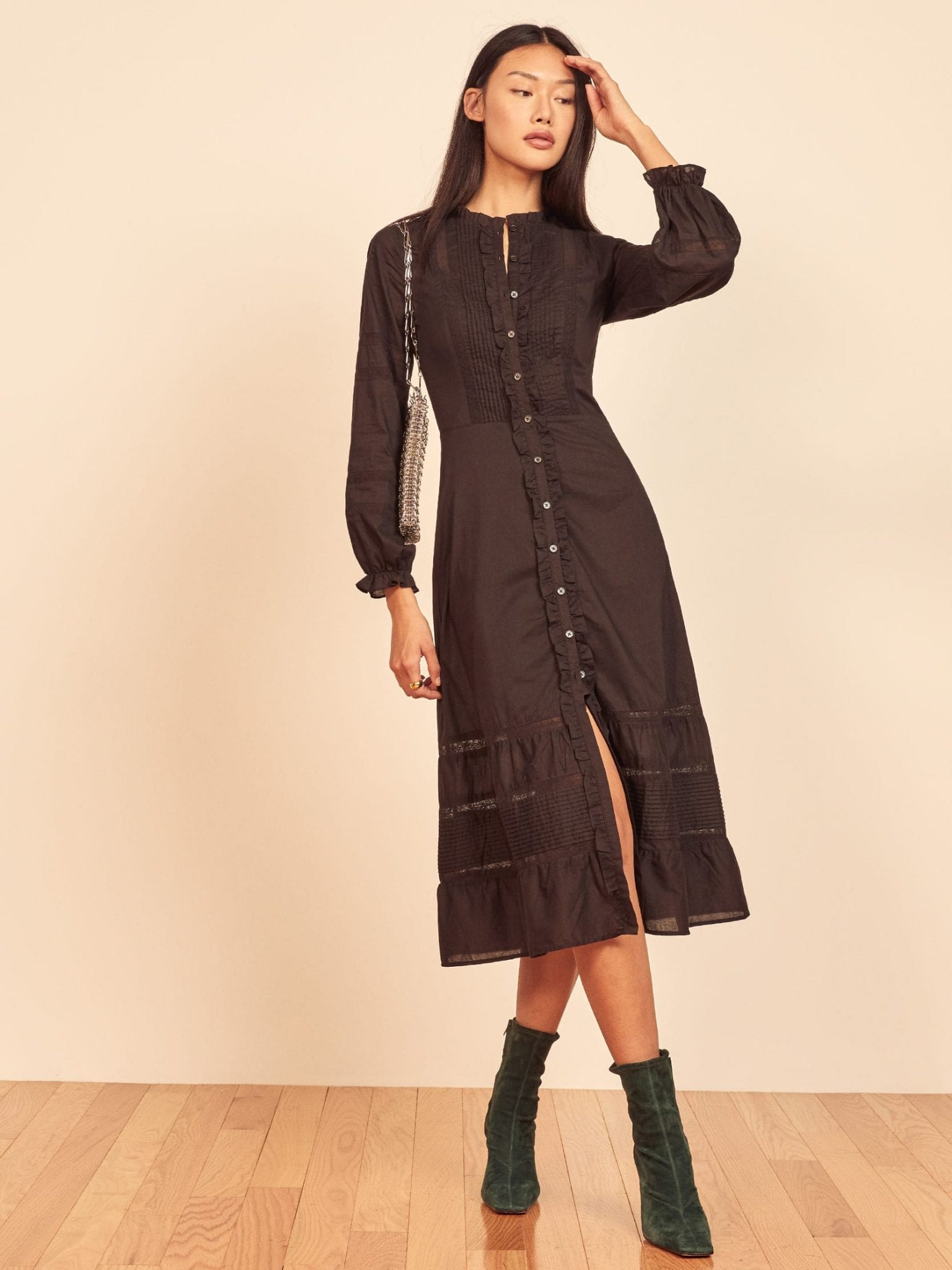 REFORMATION Ensley Dress