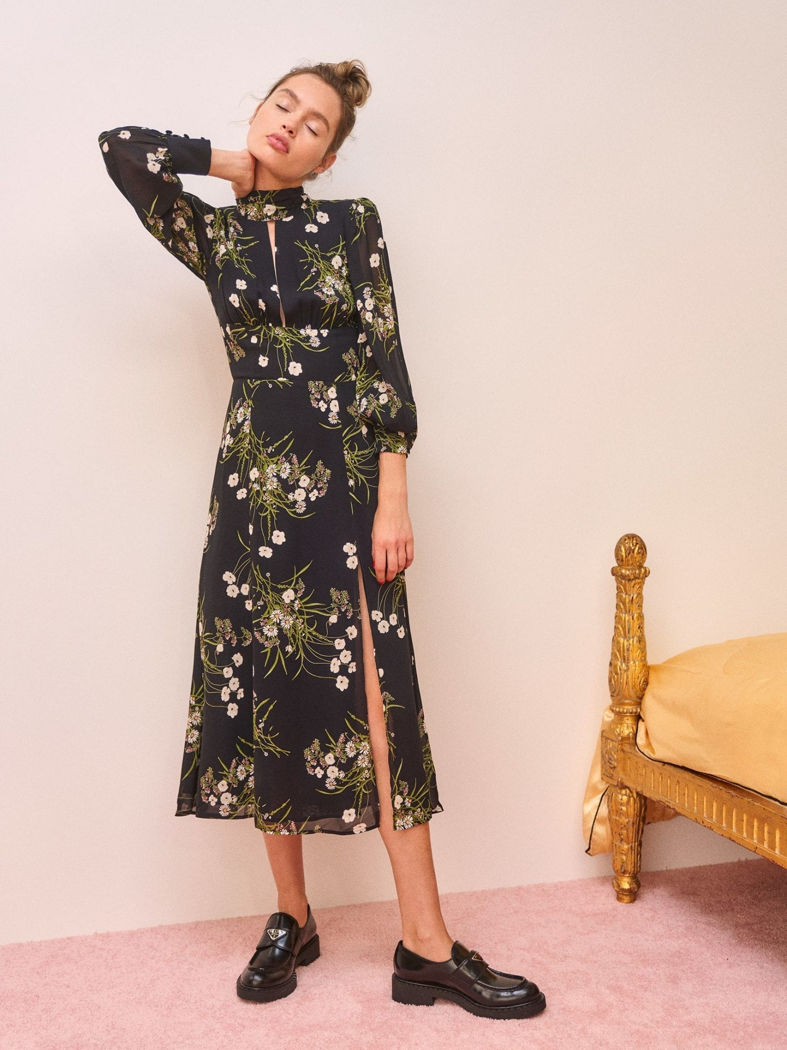 REFORMATION Rosewood Dress