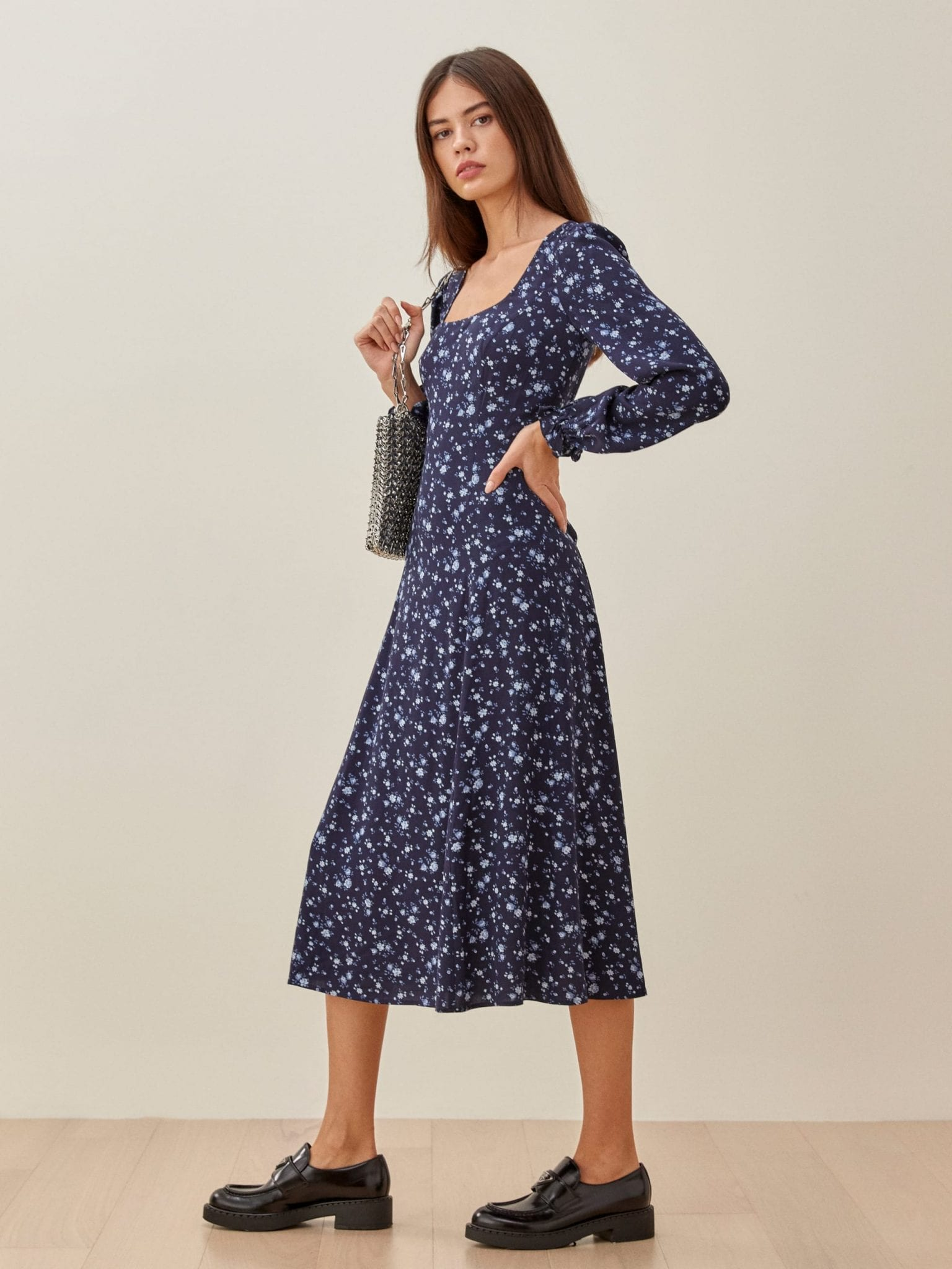 REFORMATION Woodstock Dress