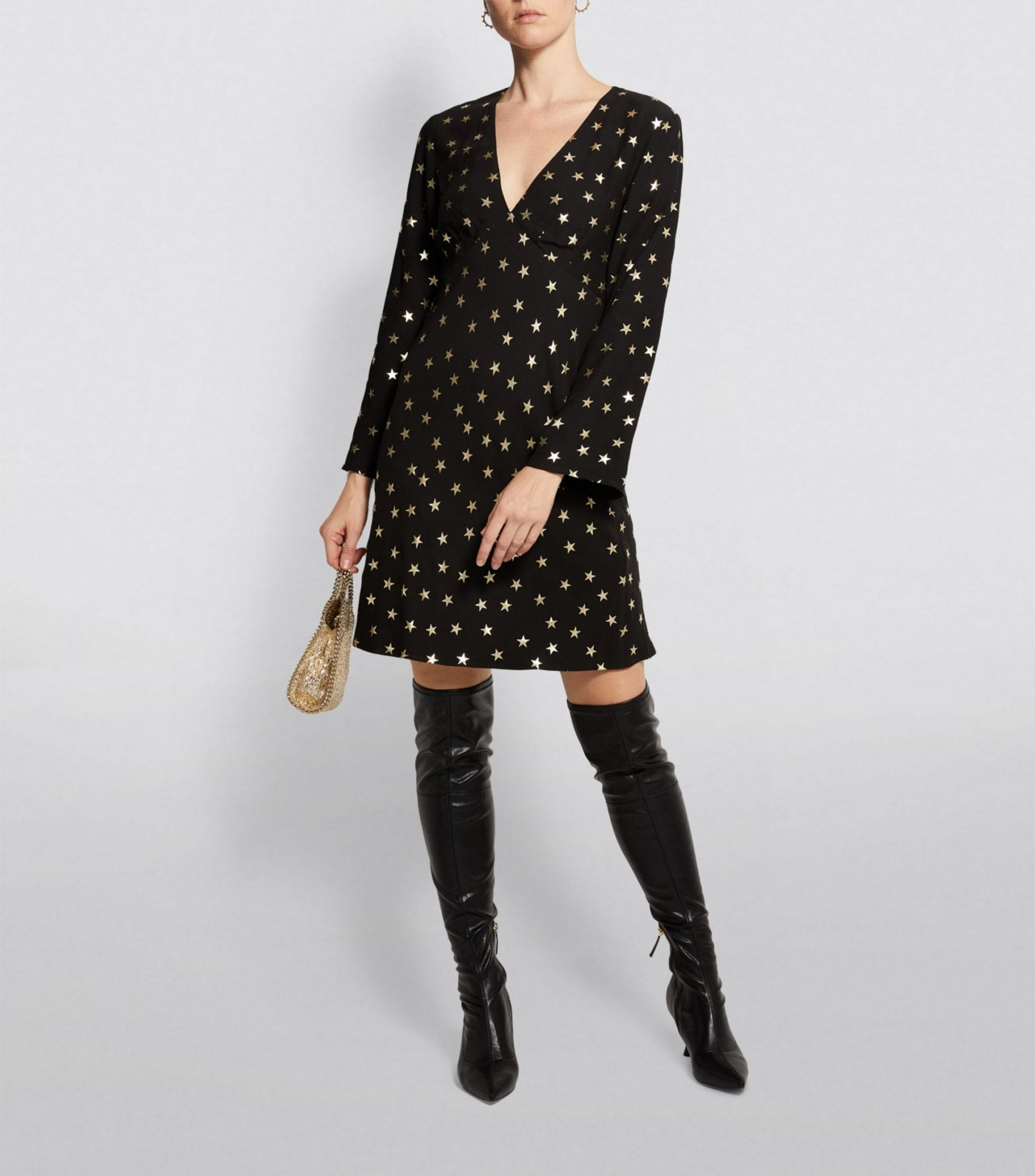 RIXO Sophie Star Mini Dress