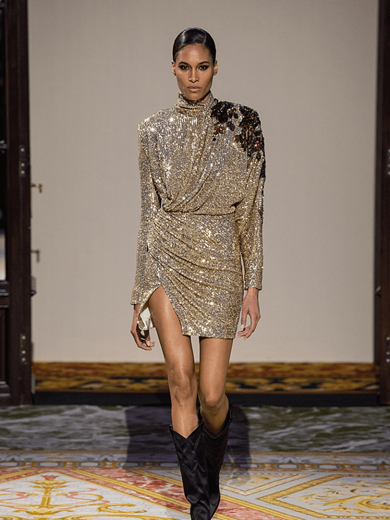 20 Festive Sequin Dresses To Get Into The Holiday Spirit