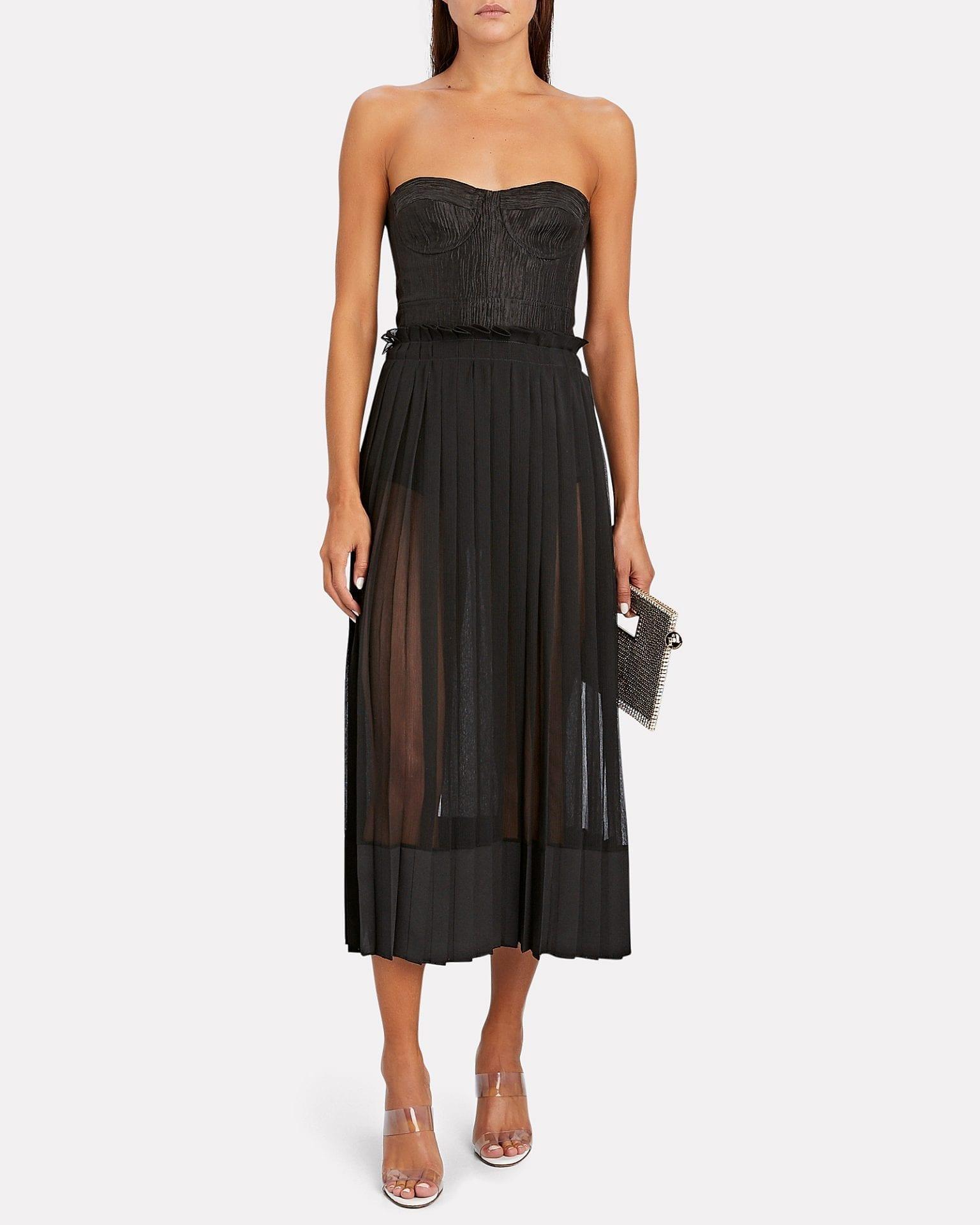 ALEXIS Inasia Strapless Midi Dress