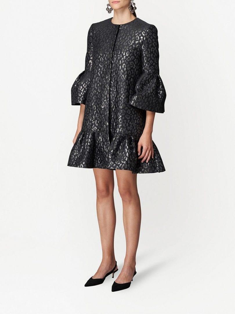 CAROLINA HERRERA Jacquard-woven Dress