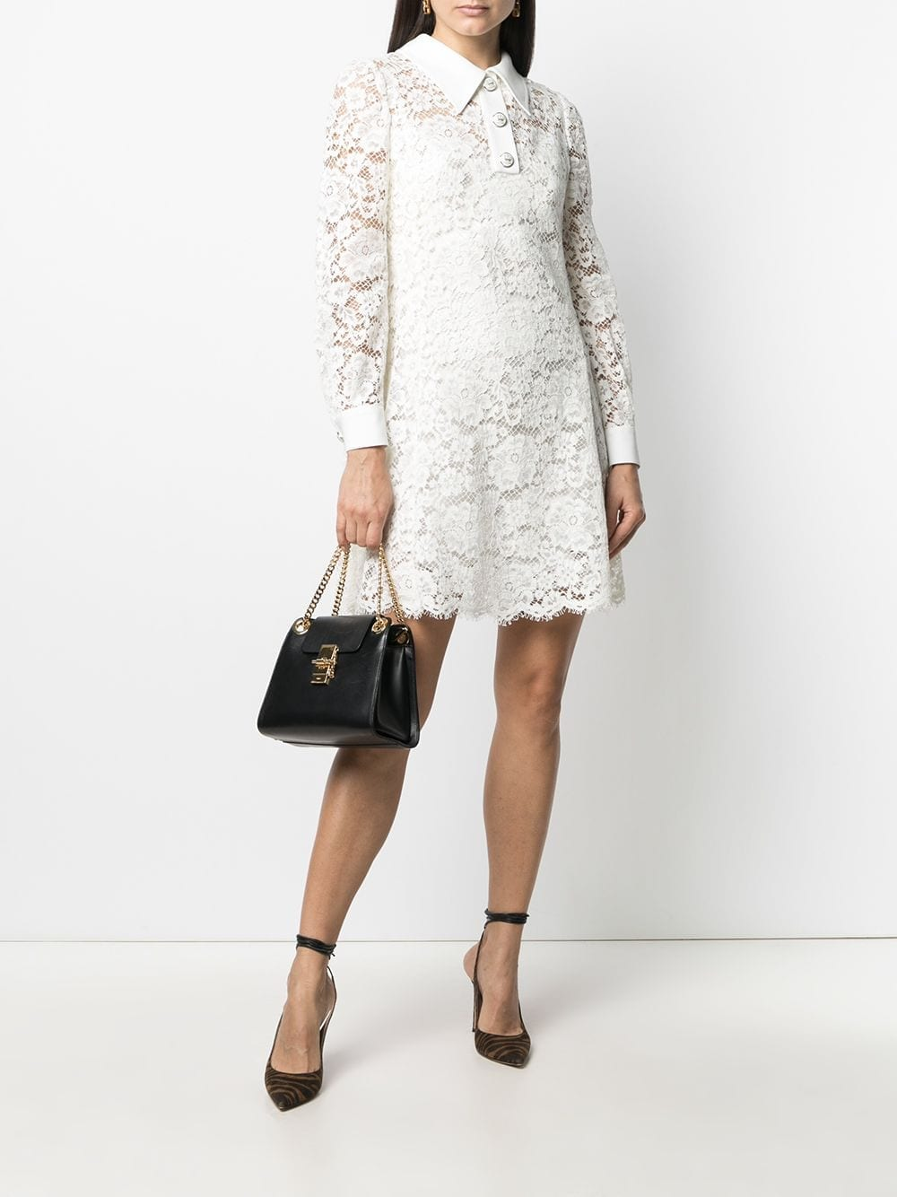 DOLCE & GABBANA Short Lace Dress