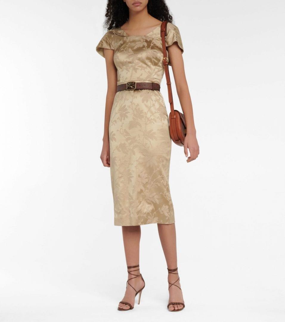 ETRO Jacquard Midi Dress